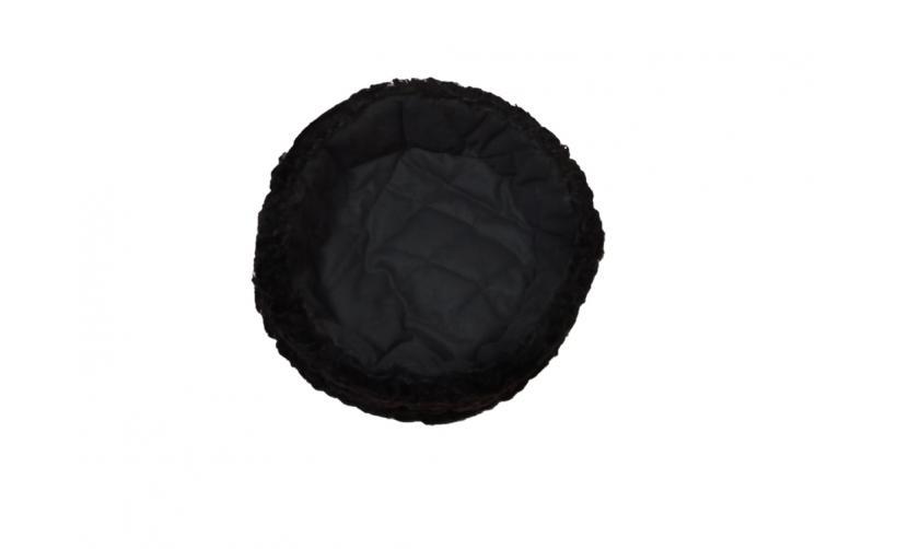 Карабинка из черного каракуля Билина