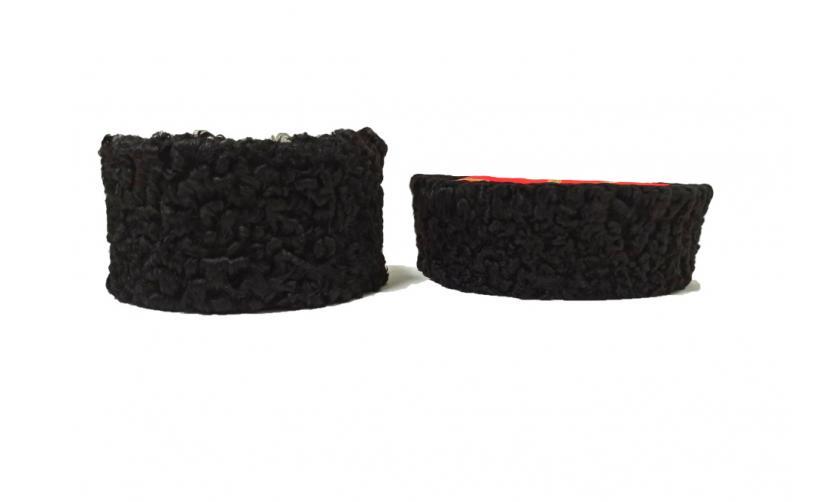 Карабинка из черного каракуля Кудрин