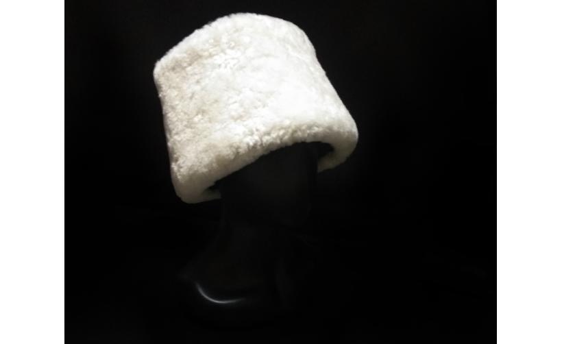 Казачья Папаха казачья из мутона Брик из натурального меха