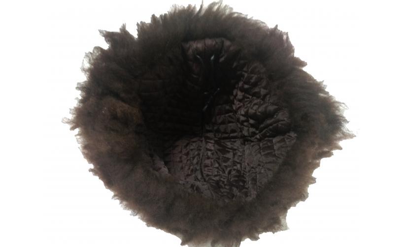 Казачья Папаха казачья из овчины Шкурко из натурального меха